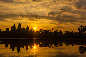 Photo of Angkor Wat, one of my many digital images for sale